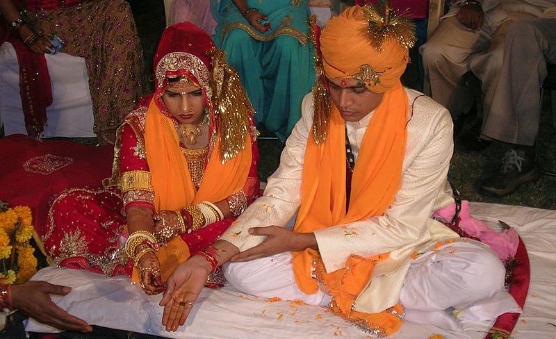 Svatba autor: Jaisingh Rathore zdroj: Wikimedia commons