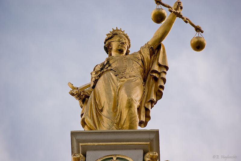 Spravedlnost autor: Emmanuel Huybrechts zdroj: Wikimedia commons