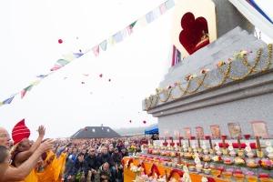 Stúpa Těnovice zdroj: Buddhismus diamantové cesty