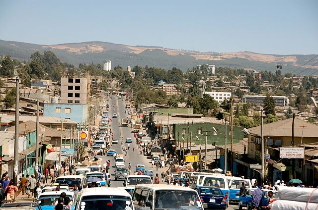 Addis Adeba autor: Sam Effron zdroj: Wikimedia commons