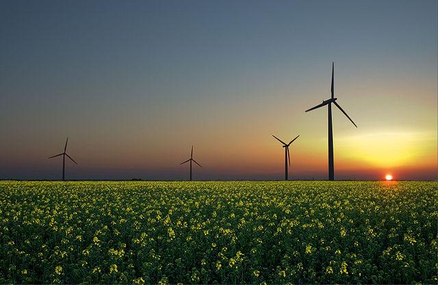 Zelená energie autor: Jürgen from Sandesneben zdroj: Wikimedia commons