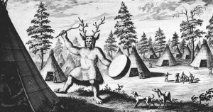 Šaman zdroj: Wikimedia commons