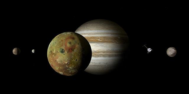 Vesmír Jupiter autor: DasWorgewand zdroj: Pixabay.com