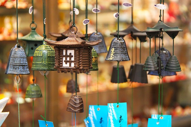 Zvonečky autor: Sharonang zdroj: Pixabay.com
