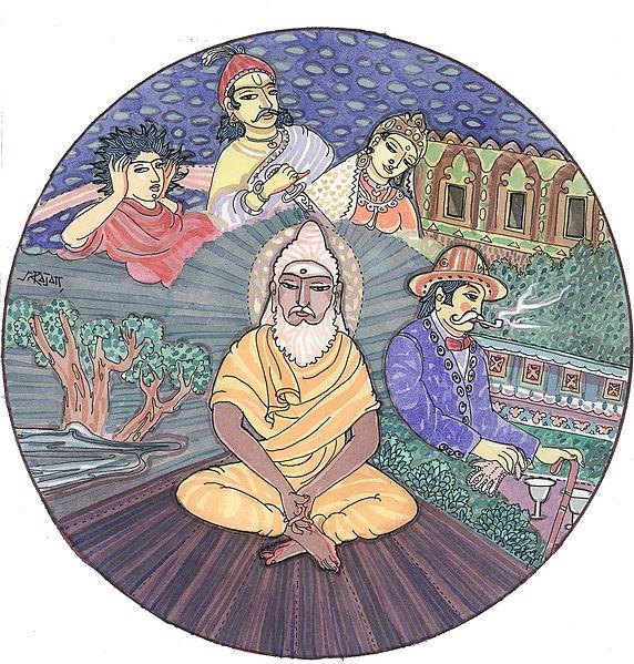Reinkarnace autor: Anantashakti zdroj: Wikimedia commons