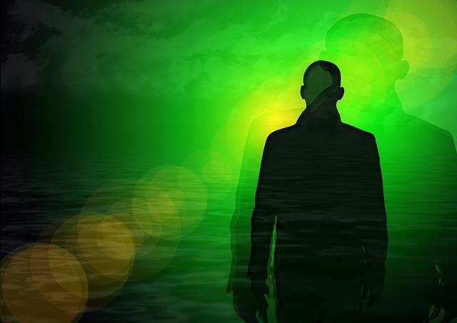 Astrální tělo autor: Geralt zdroj: Pixabay.com