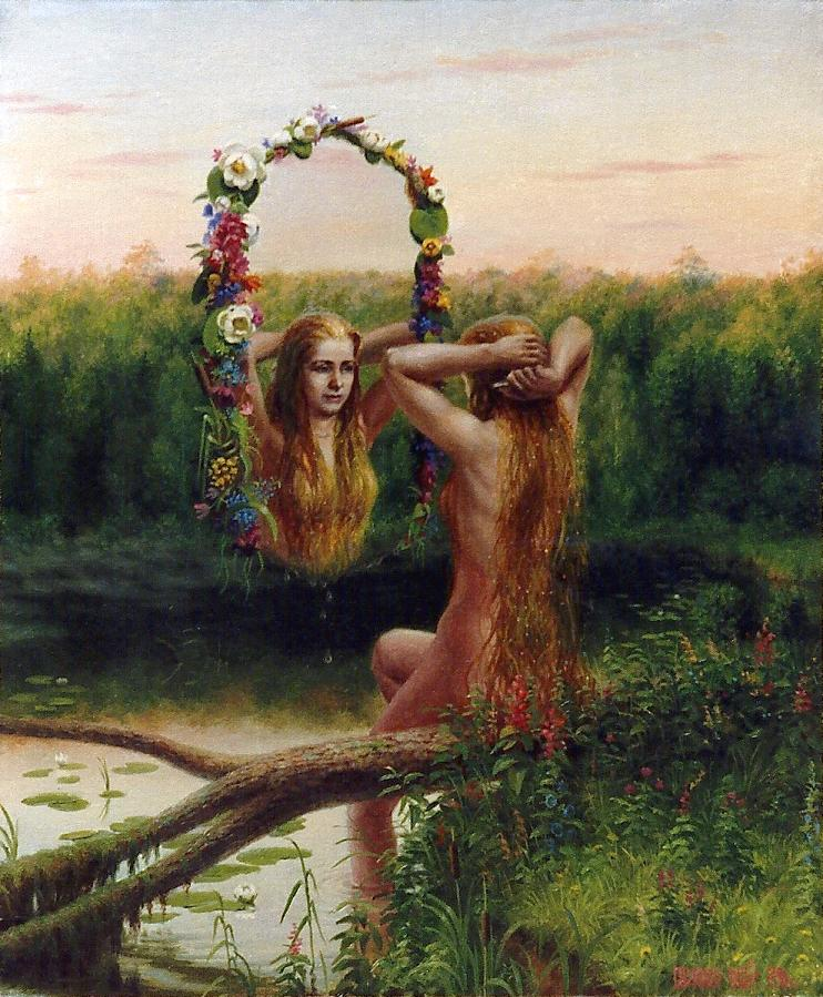 Vodní víla autor: Сергей Панасенко-Михалкин zdroj: Wikimedia commons