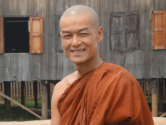 Buddhistický mnich autor: dassel zdroj: Pixabay.com