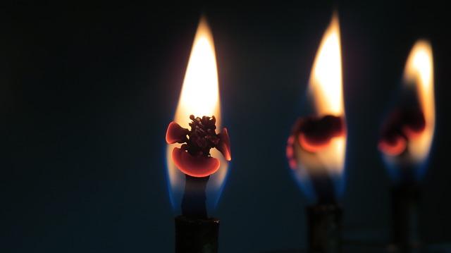 Svíčky zdroj: Pixabay.com