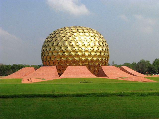Auroville zdroj: Wikimedia commons