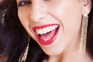 Bílé zuby, krásný úsměv