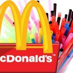 McDonald's vyřazuje plastové brčka na pití